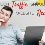 How much website traffic